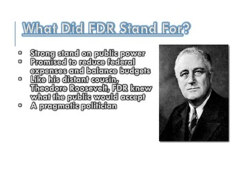 Roosevelt's New Deal / Great Depression PowerPoint (U.S. History)