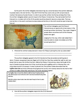 US History: The Missouri Compromise