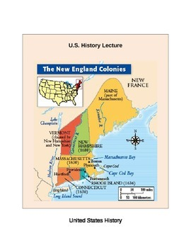 US History: The New England Colonies