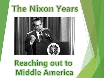 "Nixon ""Middle America"" PowerPoint (U.S. History)"