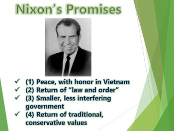 "Nixon ""Middle America"" PowerPoint (U.S. History)"