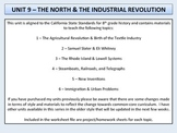 U.S. History - The North & Industrial Revolution Unit - Factories and Transport