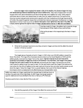 US History: The Oregon Trail