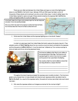 US History: The Pacific Theater of WWII/World War 2/Second World War