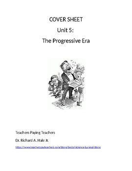 US History: The Progressive Era Common Core Unit Guide