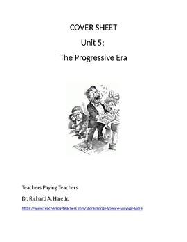 US History: The Progressive Era Common Core Unit Guide
