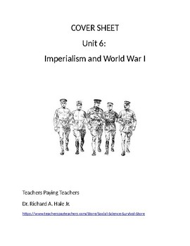 US History: Imperialism & World War 1 Common Core Unit Guide