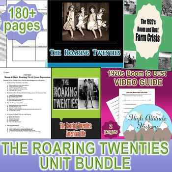 Roaring 20's Unit / Roaring 20s & Progressive Era *Unit Bu