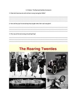 US History: The Roaring Twenties