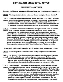 us history thematic essay topic body outline example tpt us history thematic essay topic 17 20 body outline example