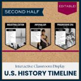 US History Timeline (2nd Half)