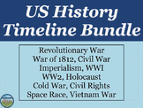 US History Timeline BUNDLE