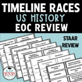 US History EOC Review - Timeline Races! Great for STAAR Review