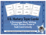 US History Topic Cards