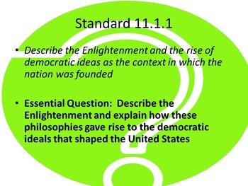US History Unit 1-Foundations of Democracy