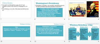 US History Unit 3- Early Presidents