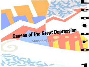 US History Unit 5-Great Depression and New Deal