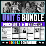 US History: Unit 6 Bundle (Prosperity and the Great Depression)