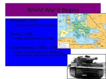 US History Unit 6-World War II