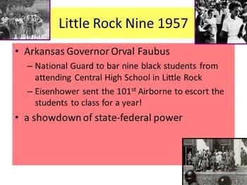 US History Unit 8-Civil Rights Movement