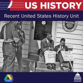 United States History - Civil Rights- present Unit