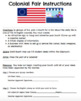 US History Variety Pack: Election Debate, Capitals, Maps, & Colonial Fair