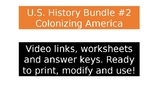 US History Video Clips #2 - Colonizing America