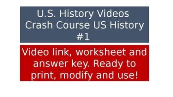 US History Videos - Crash Course #1