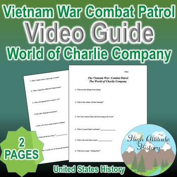 Vietnam War Combat Patrol: World of Charlie Company Video