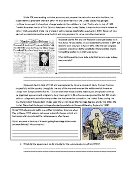 US History: WWII Home Front World War 2