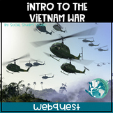 US History Webquest Lesson Plan: Intro to Vietnam War