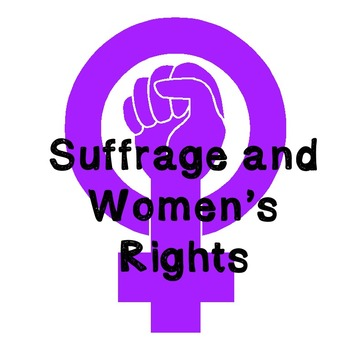 US History Weeklong Lesson Plan: Women's History Month