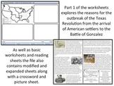 The Texas Revolution - Homework Project