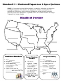 US History Westward Expansion Review: SC Standard 2.1