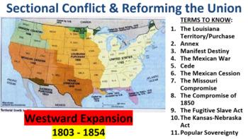 U.S. History: Westward Expansion & the Spread of Slavery
