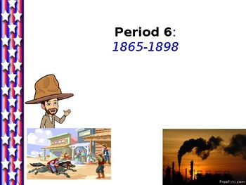 US History - Wild West and Gilded Age (1865-1898)