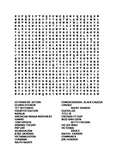 US History Word Search