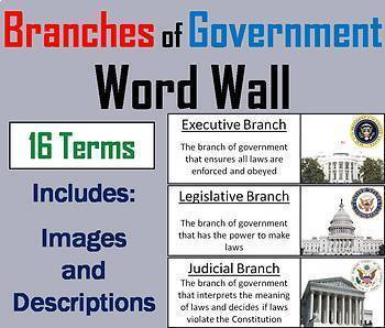 US History Word Wall Bundle: American Revolution, Civil War, World War 1-2, etc.
