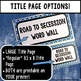 U.S. History Word Wall: Road to Secession