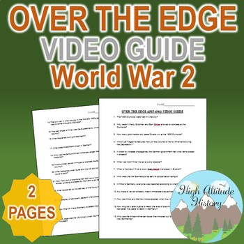 Over the Edge Original Video Guide Questions