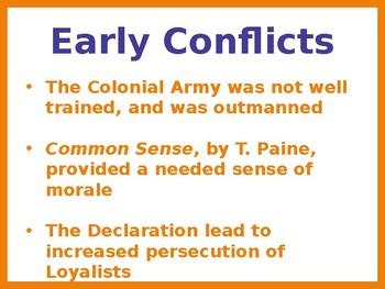 Revolutionary War Overview PowerPoint (U.S. History / World History)
