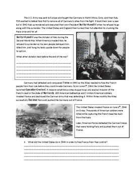 US History: World War 2