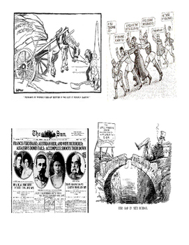 US History World War I Political Cartoon Matching Worksheet