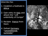 US History World War II - D-Day and Victory Europe