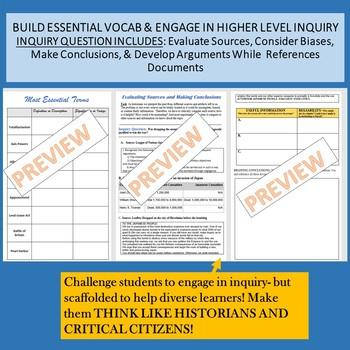 US History World War II Skill Building Workbook