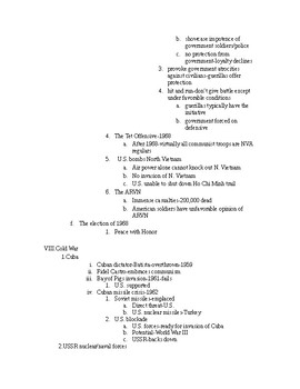 US History from 1865/1877, lecture notes,ch.29, Civil Rights and Vietnam