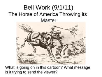 U.S History warm up  activities