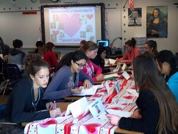 "US History/World History: WWII Leaders ""Speed Dating"""