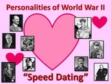 """US History/World History: WWII Leaders """"Speed Dating"""""""