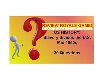 US I #13-Expansion, and Manifest Destiny Review Royale Game (Google Slides)